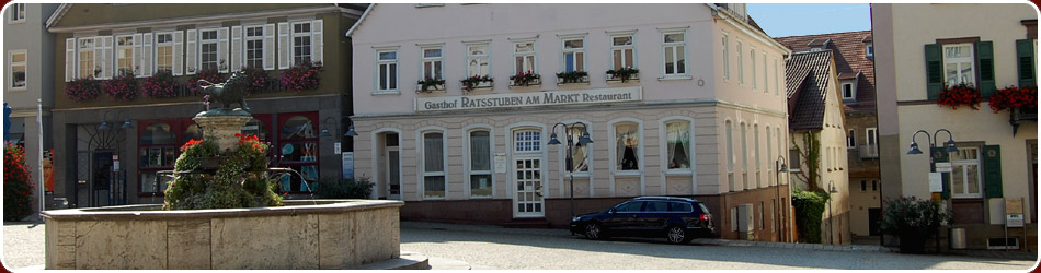 ratsstuben am markt in vaihingen enz start. Black Bedroom Furniture Sets. Home Design Ideas